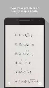 Mathway - Math Problem Solver Screenshot