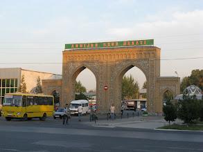 Photo: Andizhan, bus station
