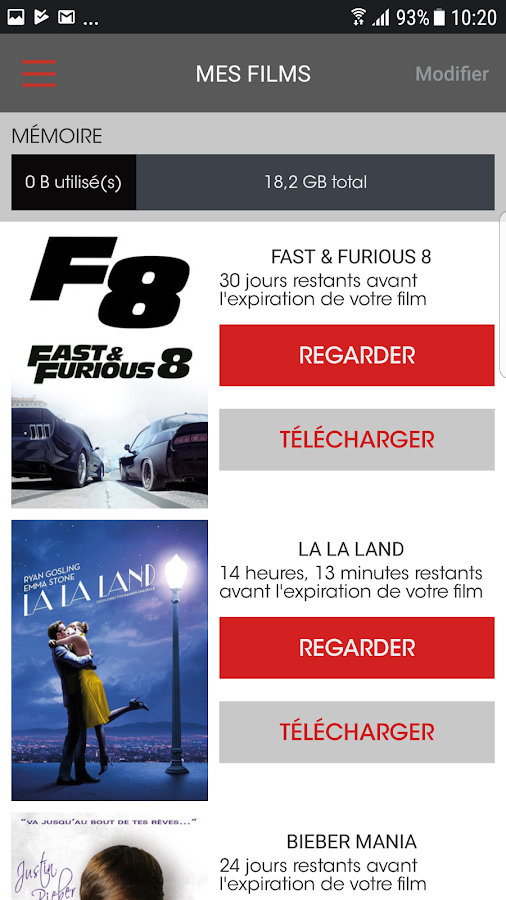 PlayVOD - Films à télécharger- screenshot