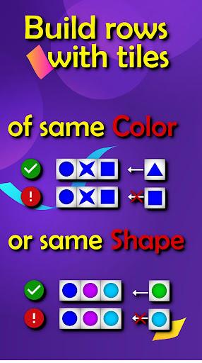 6 tiles in a row: brain trainer game apktram screenshots 2