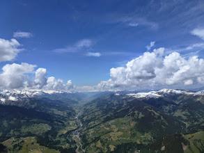 Photo: Pinzgau mit perfekte Bewölkung (nur um 1.000m zu niedrig und um 2-3h zu früh)