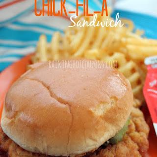 Copycat Chick-fil-A Sandwich.