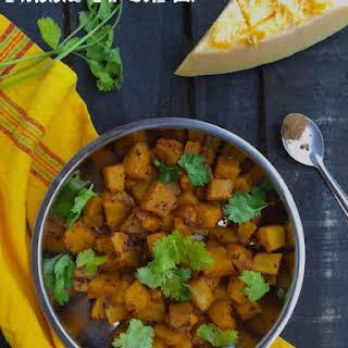 Punjabi Pumpkin Curry / Kaddu ki sabzi.