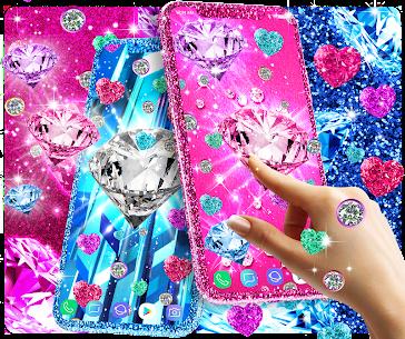 Diamond live wallpaper Apk Download 1
