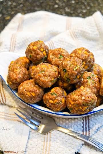 Mango Jalapeño Meatballs