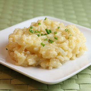 Cheater's Parmesan Risotto.