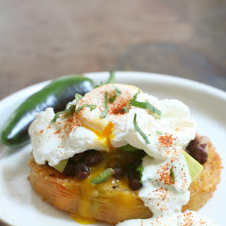 Fried Green Tomato Huevos Rancheros