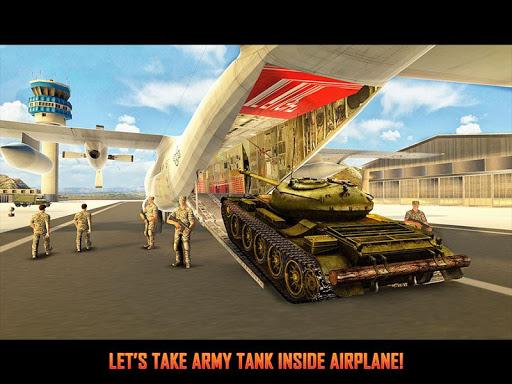 Army Tank Transport Plane Sim screenshots 11