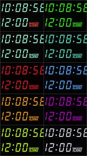 "PsPsClock ""VFD"" - Music Alarm Clock & Calendar - náhled"