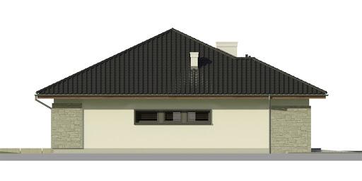 Dom przy Pastelowej 2 - Elewacja lewa