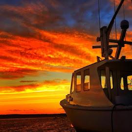 by Danny Caffrey - Transportation Boats