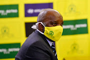 Mamelodi Sundowns coach Pitso Mosimane during the clubs 50th anniversary announcements in Sandton on May 21, 2020 in Johannesburg, South Africa.
