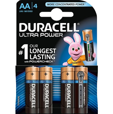 Duracell Ultra Power AA LR6 5x4-pack