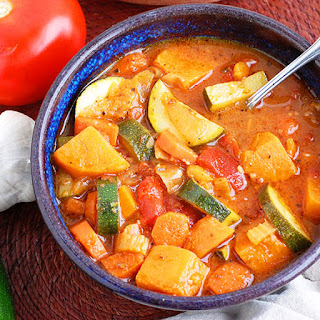 Hearty Paleo Vegetable Soup.
