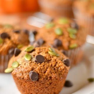 Pepita Chocolate Chip Pumpkin Muffins Recipe