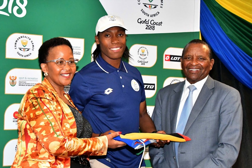 Sports Minister Xasa prepares to fly to Lausanne to support Caster Semenya against IAAF