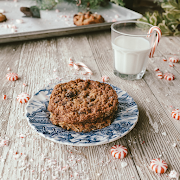 Brown butter coconut oatmeal cookie