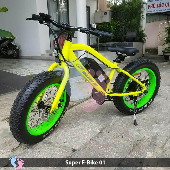 Xe đạp điện địa hình Super E-Bike 01 3