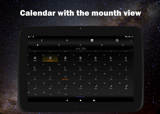 Moon Phase Calendar 1.16 screenshots 7