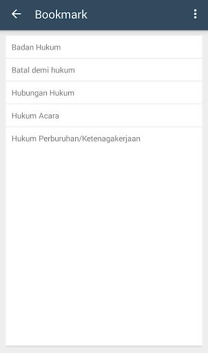 Screenshot 4 Kamus Hukum