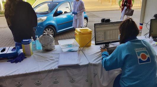 El sábado deja casi 4.000 nuevos inmunizados contra la covid en Almería