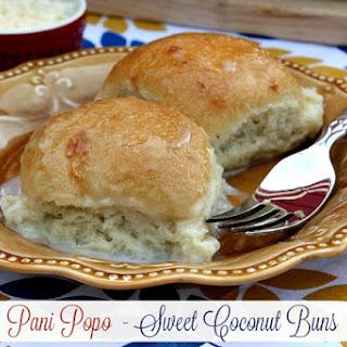 Shortcut Pani Popo (Sweet Coconut Buns)