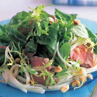 Hazelnut Pork Salad.