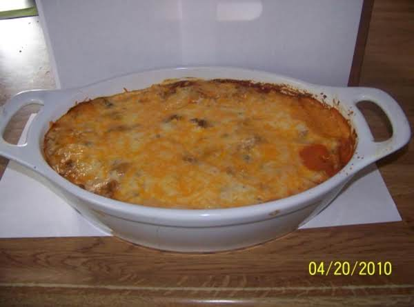 Spasagna (spaghetti Casserole)