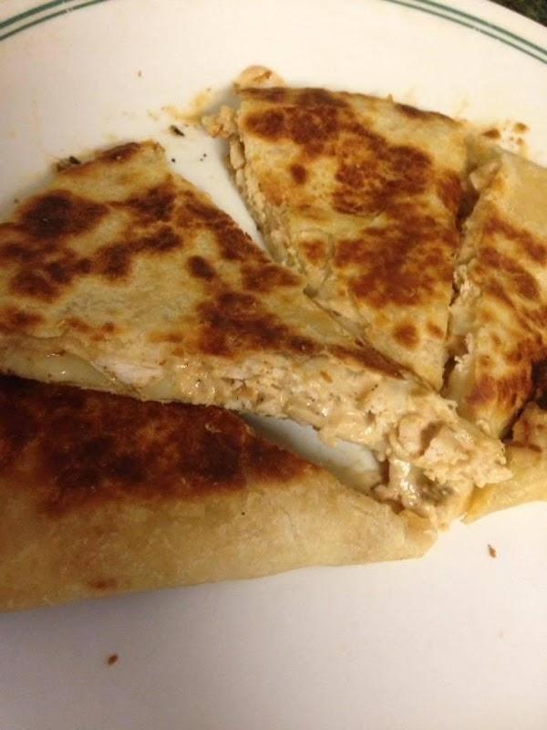 Chicken Quesadilla *copycat Taco Bell* Recipe