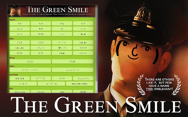 The Green Smile