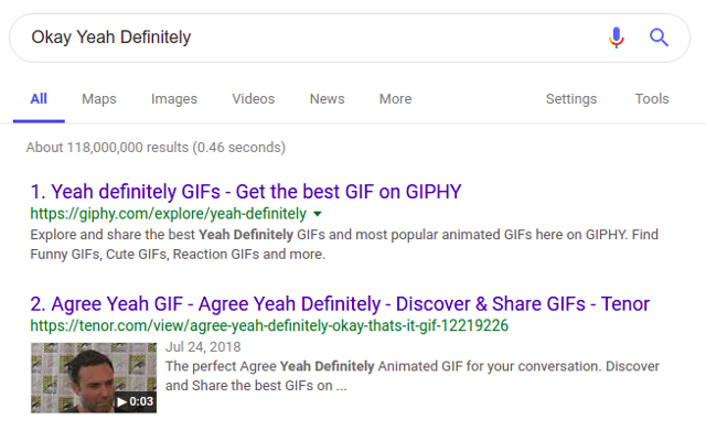 Add Numbers to Google Search Results