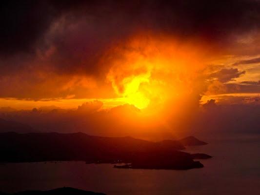 Raggio sull'isola di Marino Paroli