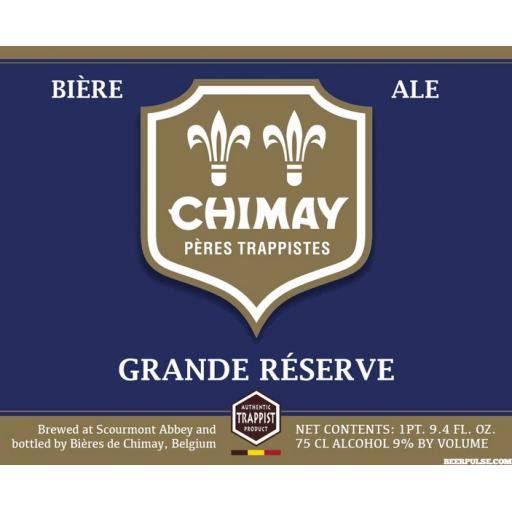 Chimay Grande Réserve (Blue)