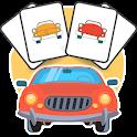 Autóskártya Retro icon