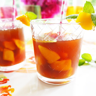 Mango & Mint Iced Tea