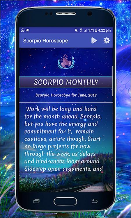 Scorpio ♏ Daily Horoscope 2019 – (Android Apps) — AppAgg