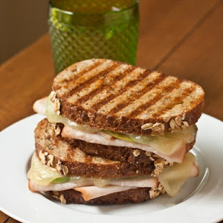 Turkey-Apple Panini with Fig and Gruyère