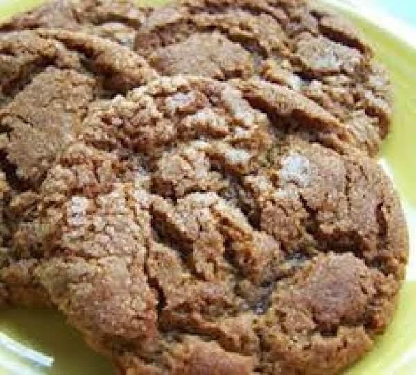 Crinkle Top Molases Cookies Recipe