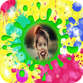 Happy Holi Photo Frame 2018