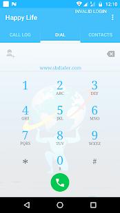 SB Dialer - náhled