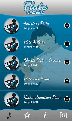 Flute Ringtones - screenshot