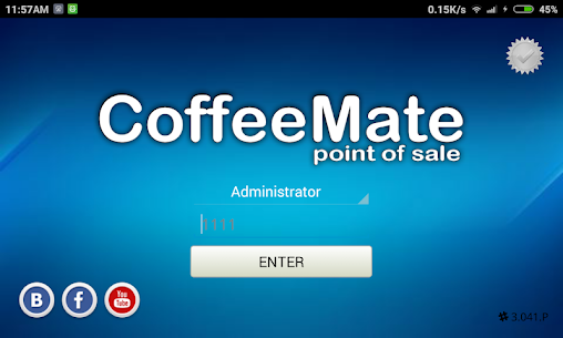POS Coffee Mate 2