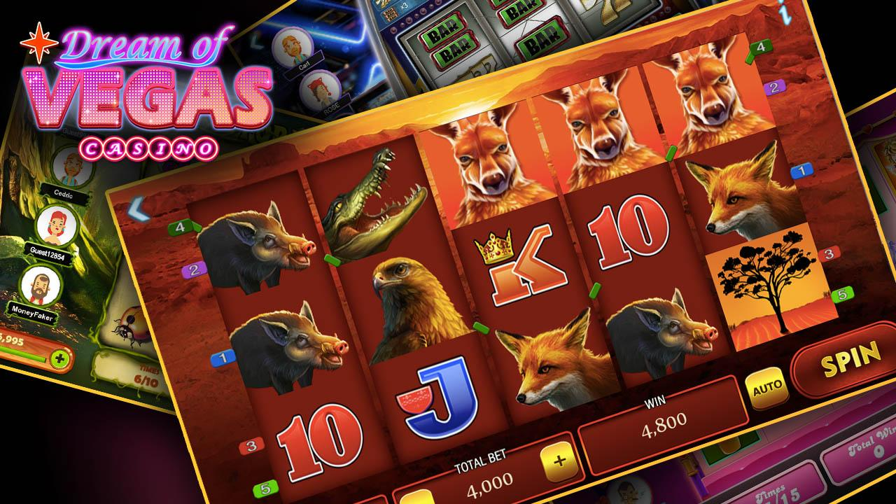 dream of vegas slots casino