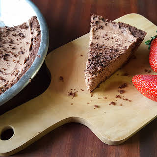 Low Carb Choclate Cheesecake.