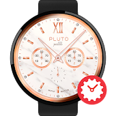 Pebble watchface by Pluto