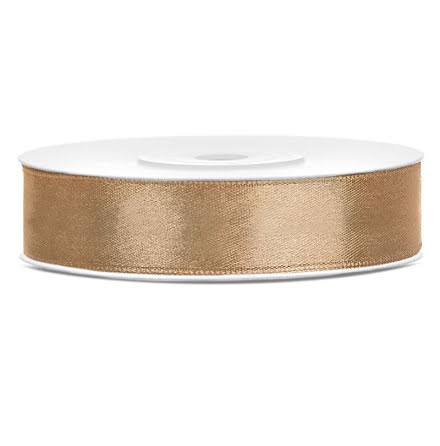 Satinband - Guld