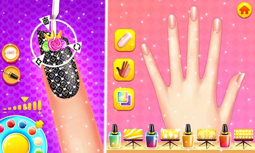 Nail makeup Kit: Fashion doll girls games 2020 apkdebit screenshots 2