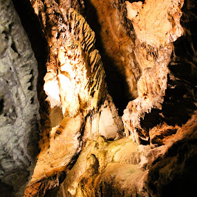 by Brooke Beauregard - Landscapes Caves & Formations ( chattanooga, ruby falls, caves, tennessee )