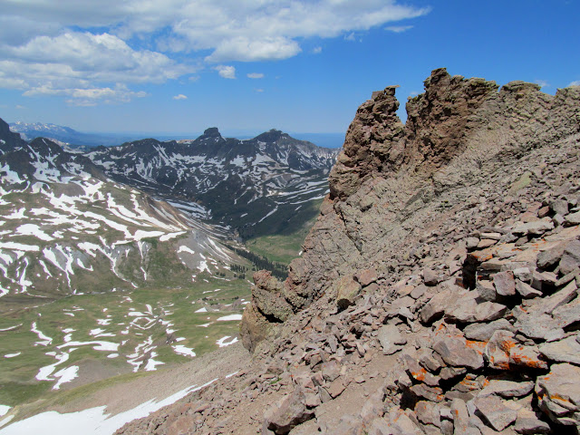 Coxcomb Peak and Redcliff