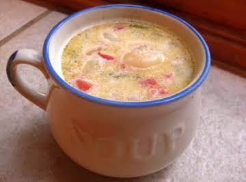 Yummy Corn and Shrimp Soup